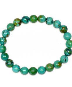 Turquoise (Chinese) 8mm Bracelet - BOGO