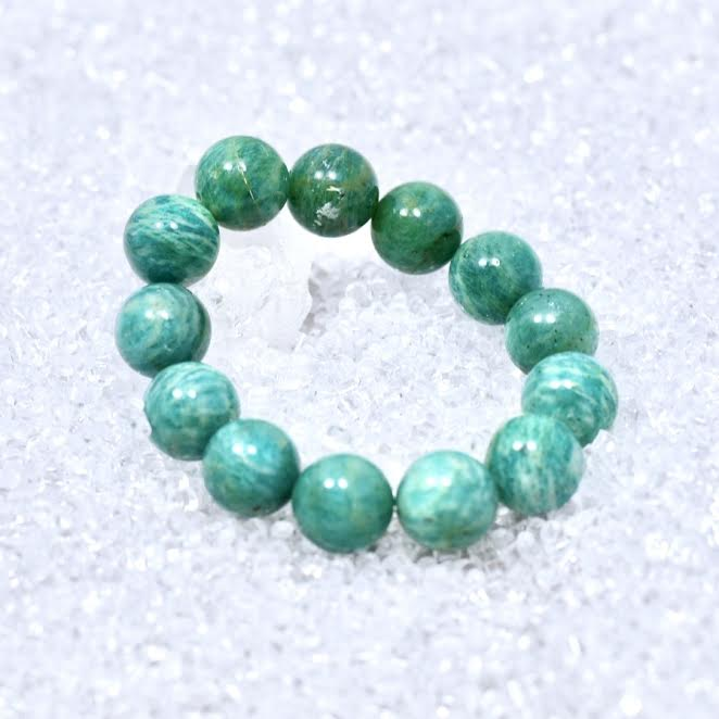 Amazonite 14mm Bracelet - BOGO