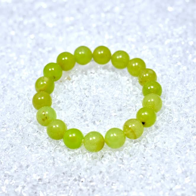 Amber (Green) 10mm Bracelet - BOGO