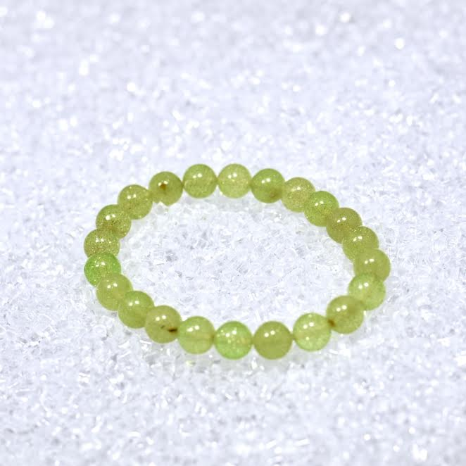 Amber (Green) 9mm Bracelet - BOGO