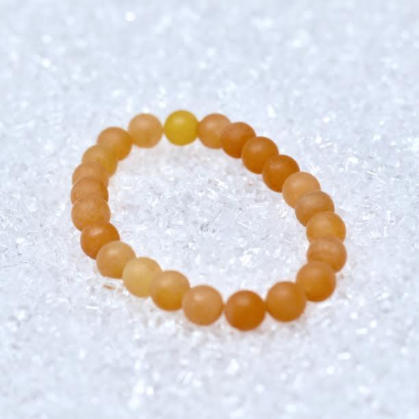 Aventurine (Orange) Matte 8mm Bracelet - BOGO