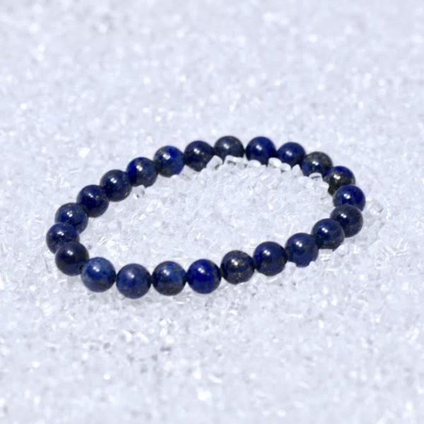 Lapis Lazuli 8mm AA Quality Bracelet - BOGO