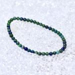 Lapis Lazuli & Malachite 4mm Bracelet - BOGO
