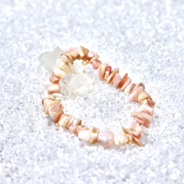 Opal (Pink) Chip Bracelet - BOGO