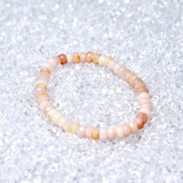 Opal (Pink) Faceted Rondell Bracelet - BOGO