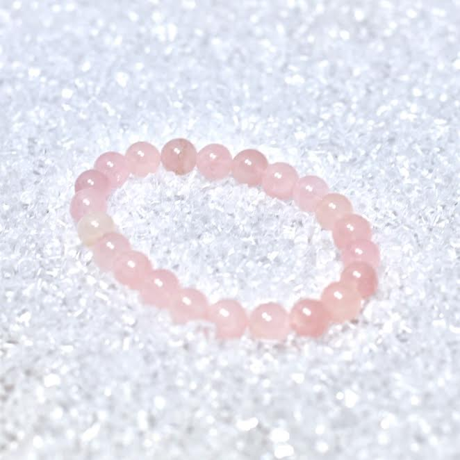 Rose Quartz 8mm AA Quality Bracelet - BOGO
