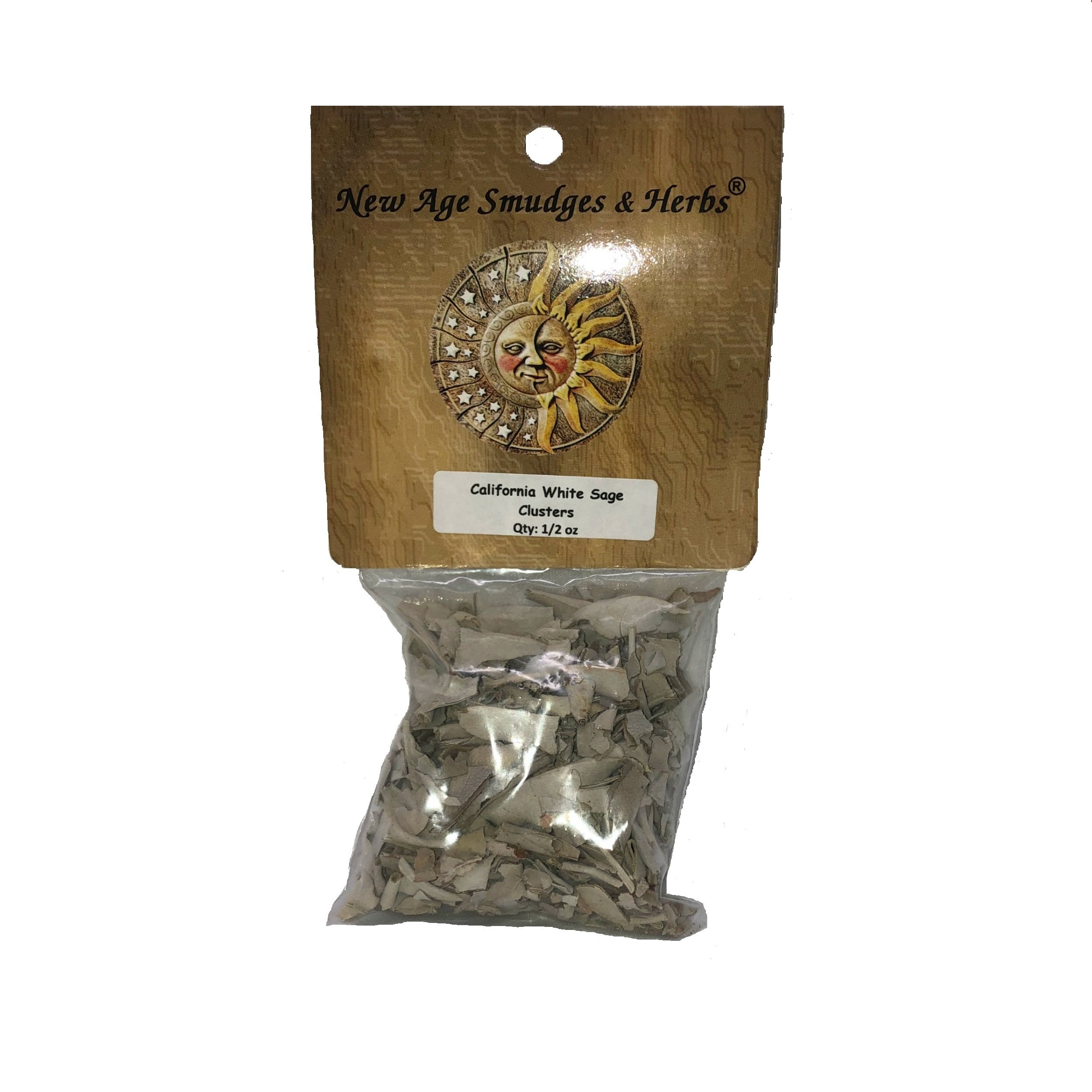Smudge - White Sage Loose Clusters 1/2 oz